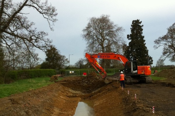 Prestbury Flood Aleviation Scheme